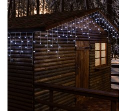 Tenda luminosa per festività 720 led 30 metri
